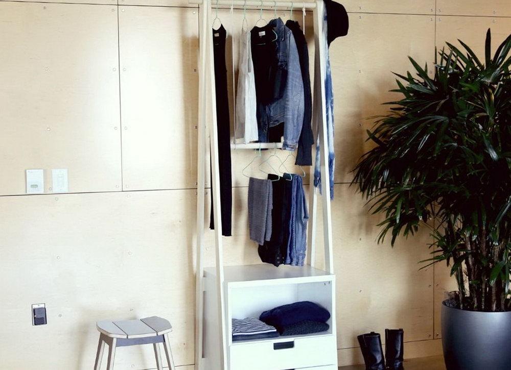 Diy Closet Clothes Rack