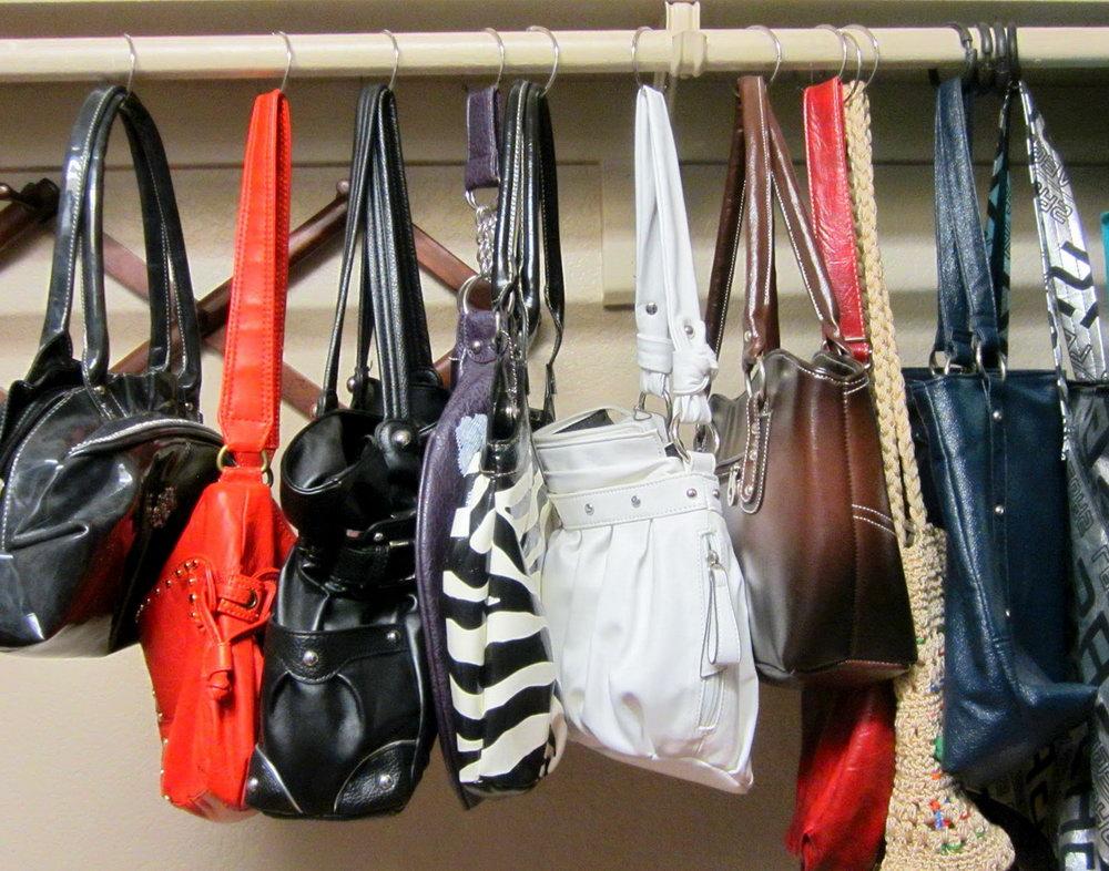 Diy Purse Hanger For Closet