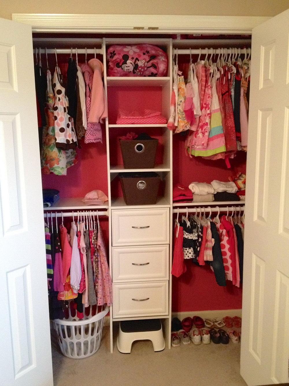 Diy Small Closet Shelves