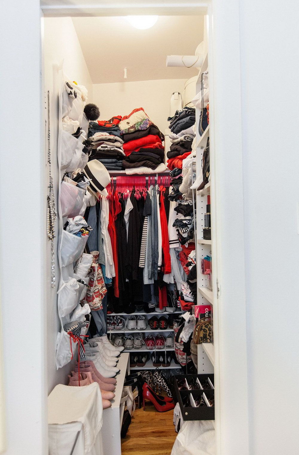 Diy Small Walk In Closet Organization Ideas