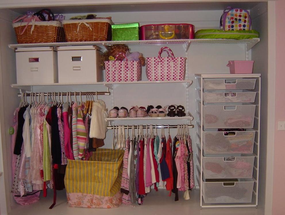 Do It Yourself Closet Organizer