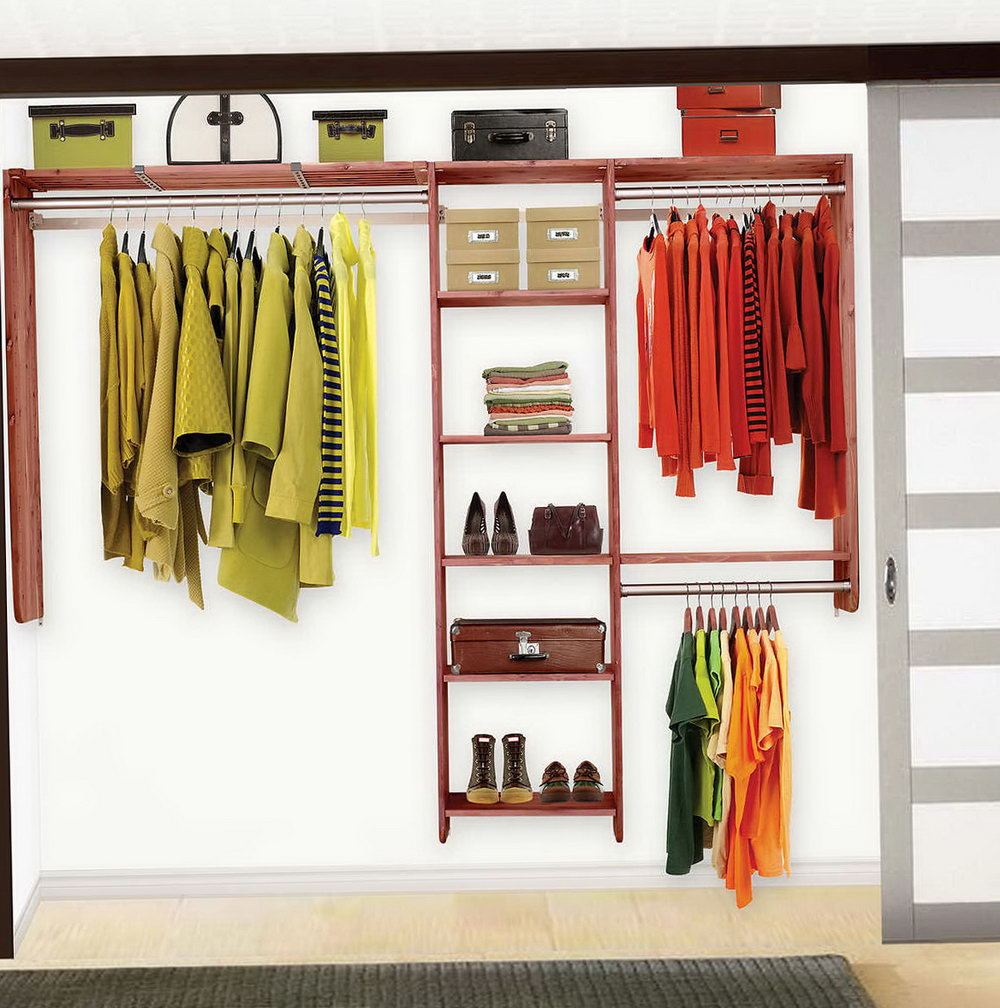 Do It Yourself Closets Designs