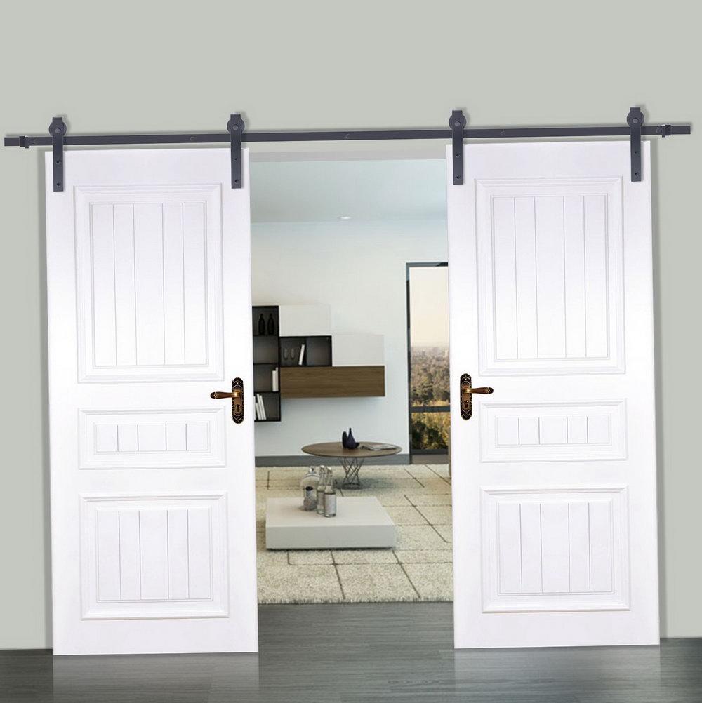 Double Barn Door Closet