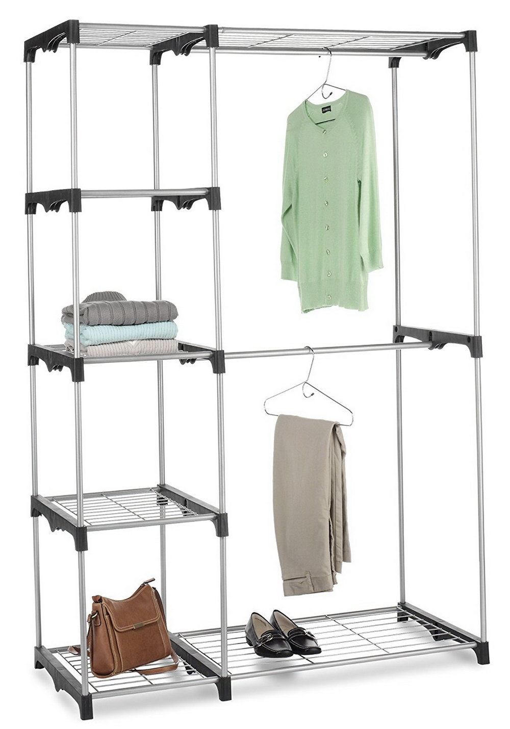 Double Rod Closet Height