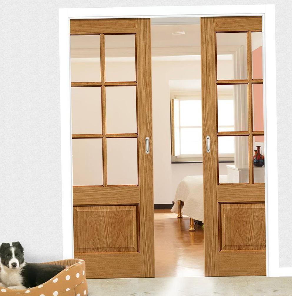 Double Sliding Closet Door