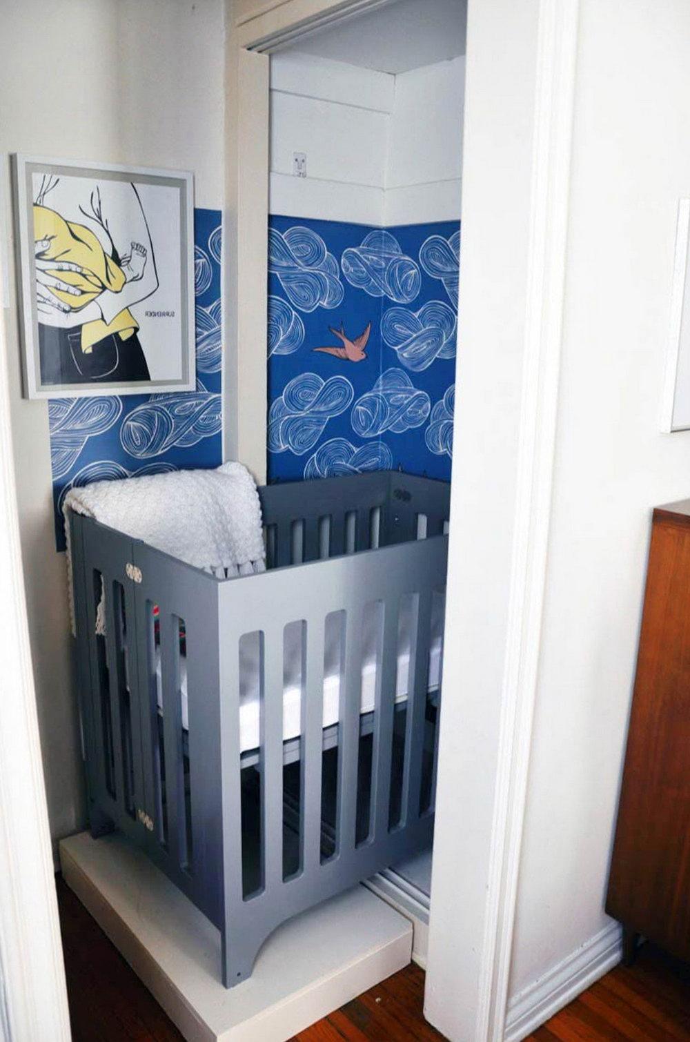 Dresser In Closet Nursery