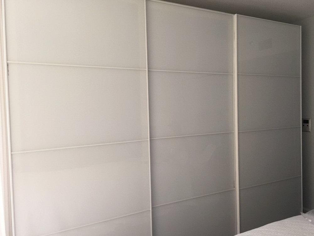 Ikea Closet Door Hack