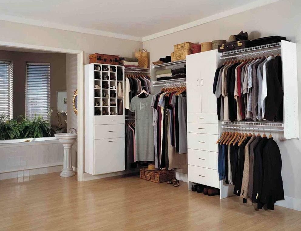 Ikea Open Closet Ideas