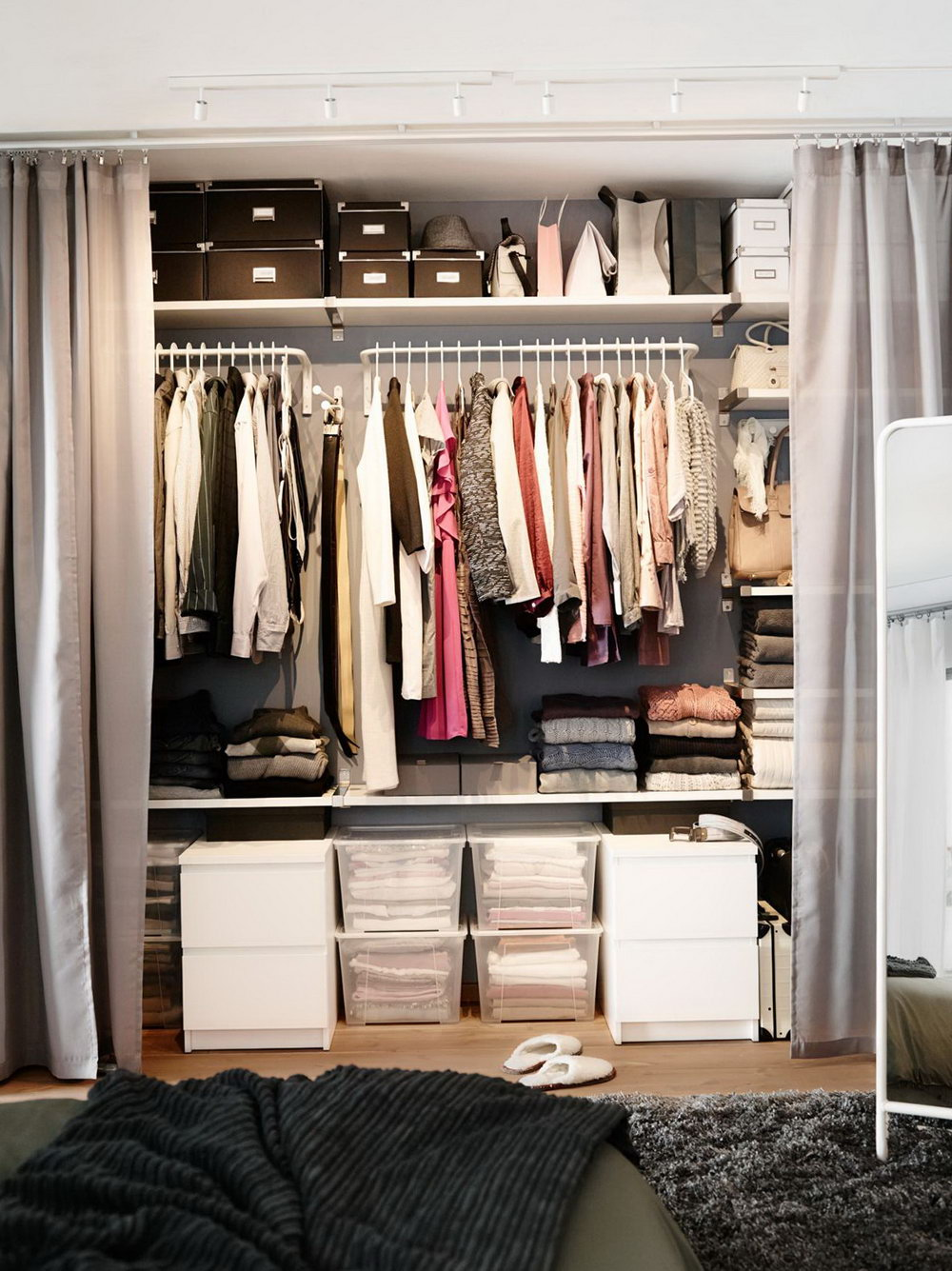 Ikea Storage Closet System