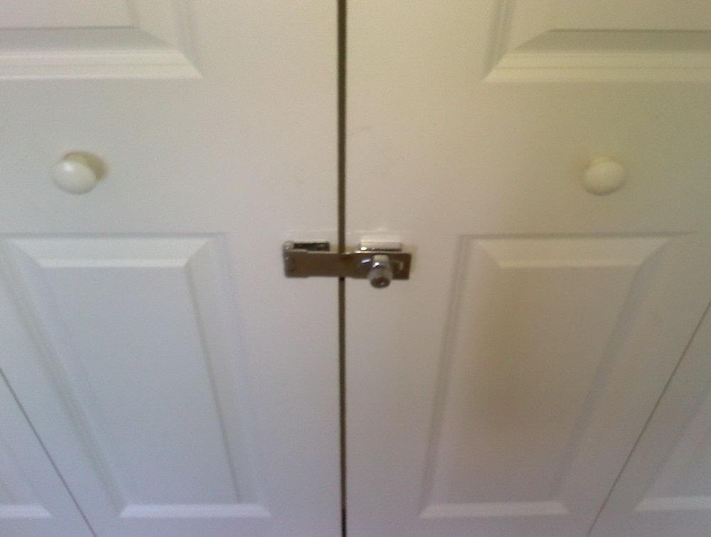 Lock For Sliding Closet Door
