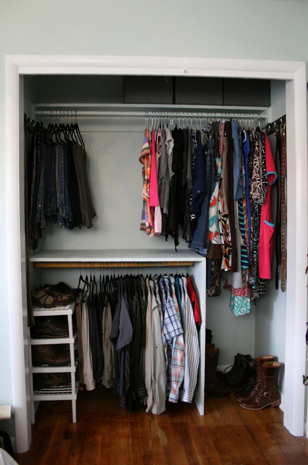 Lowes Closet Rod And Shelf