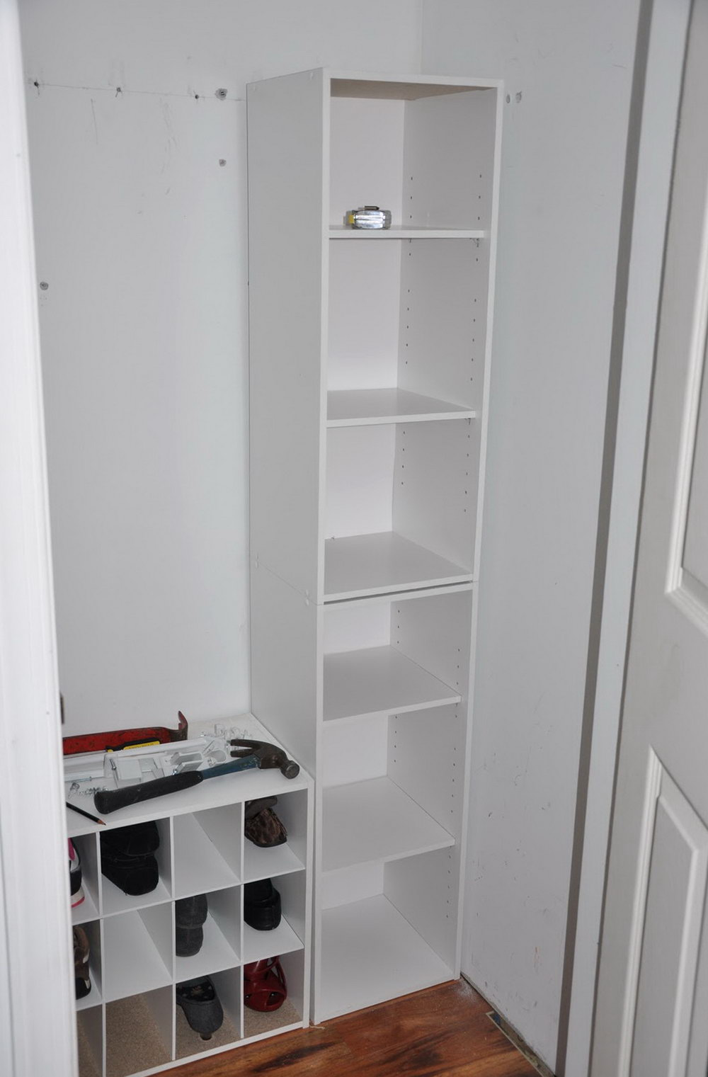 Lowes Rubbermaid Closet Shelves