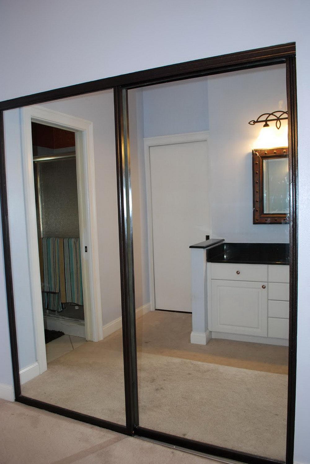 Mirror Doors For Closet Home Depot