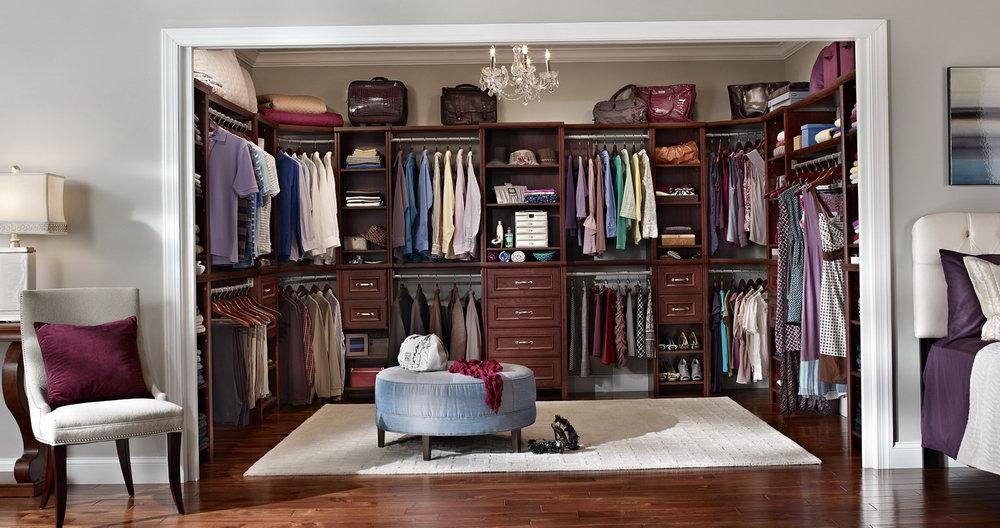 Modern Master Bedroom Closets