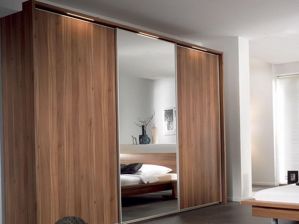 Modern Wood Closet Doors