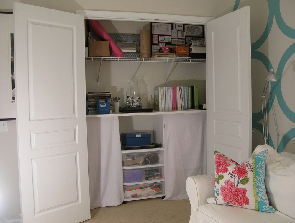 Office In A Closet Images