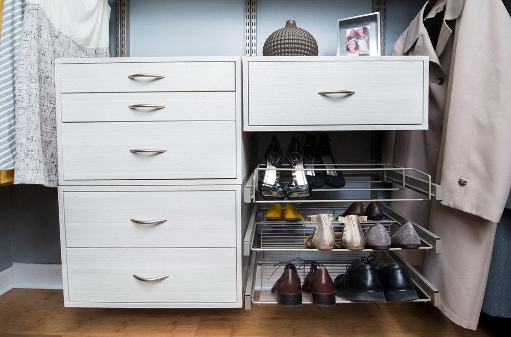Putting Dresser In Closet