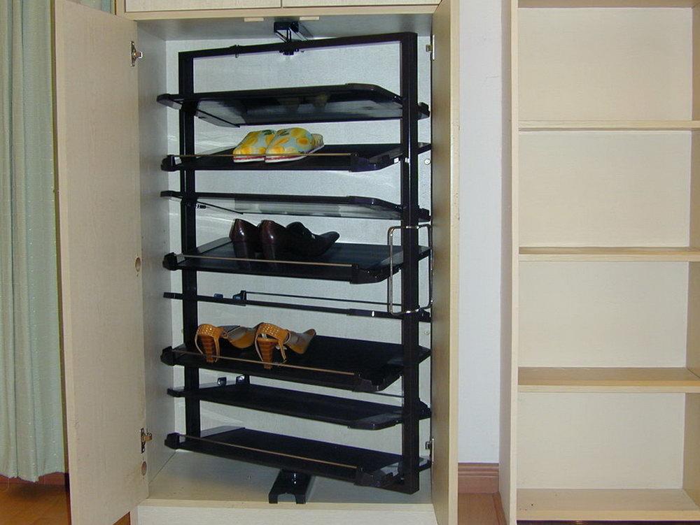 Rotating Hanging Closet Storage