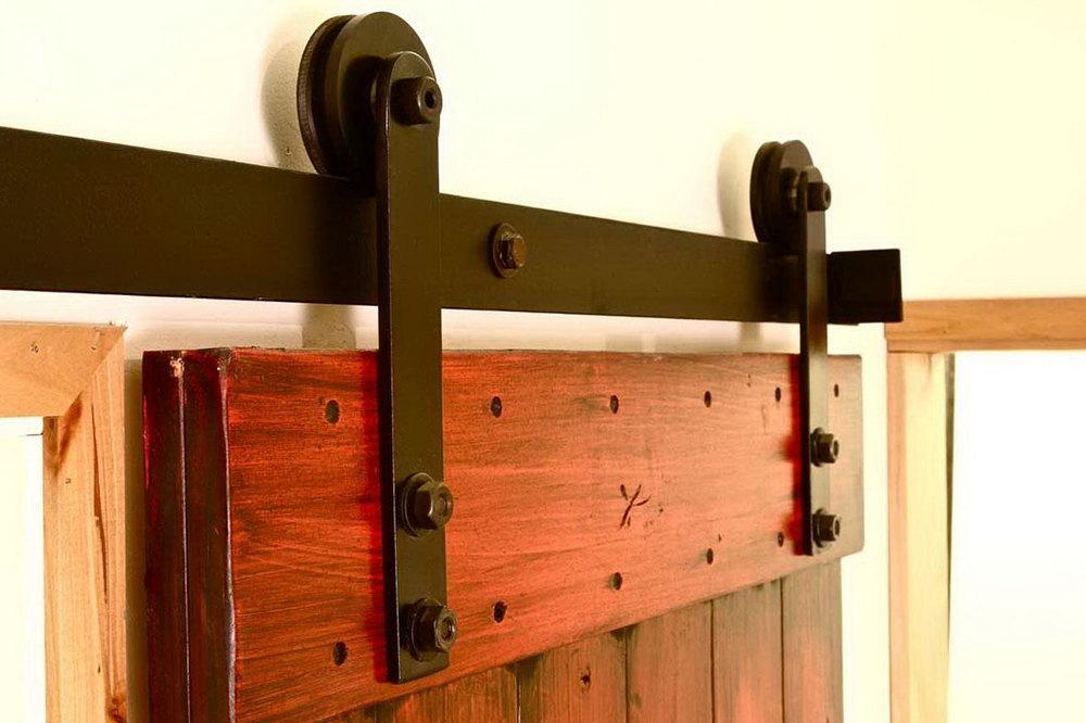 Rustic Closet Barn Doors