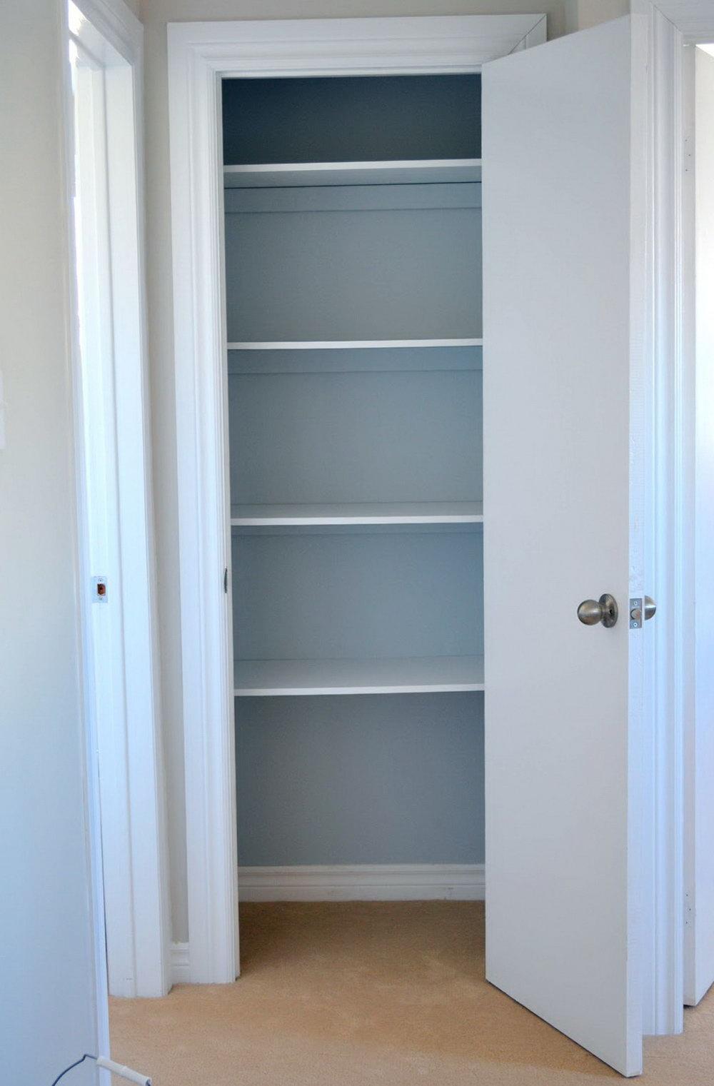 Shelf Height For Linen Closet