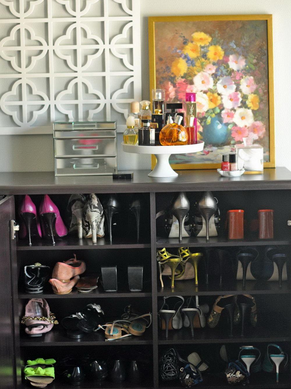 Shoe Closet Storage Ideas
