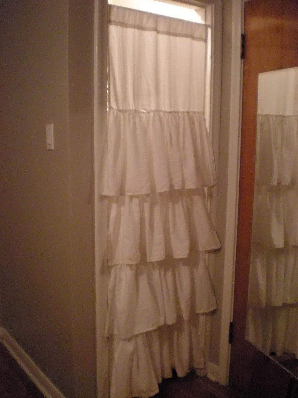 Shower Curtains As Closet Doors