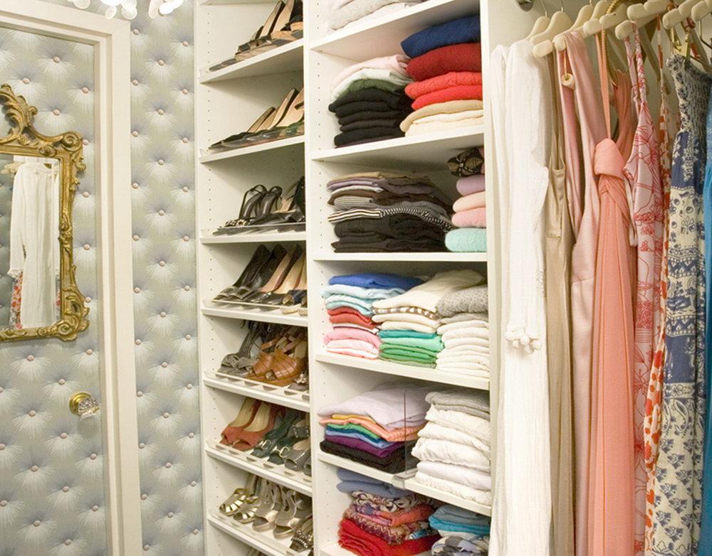 Small Closet Designs Ideas