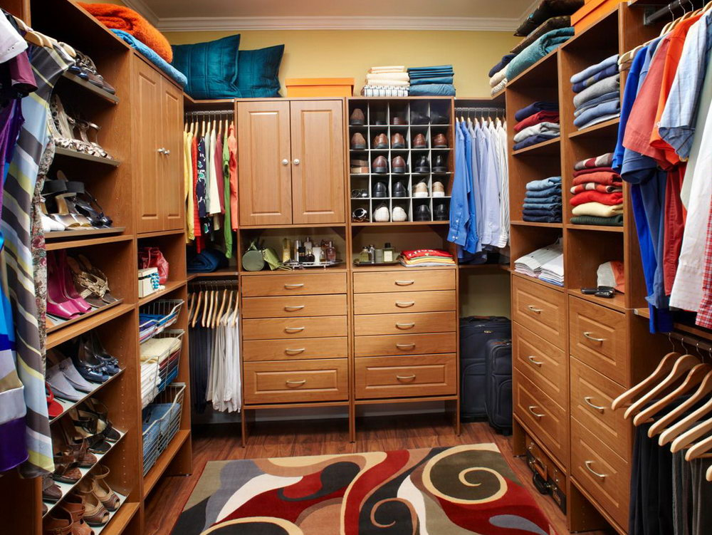 Small Master Closet Designs