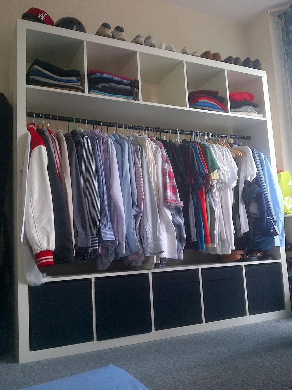 Small Wall Closet Ideas