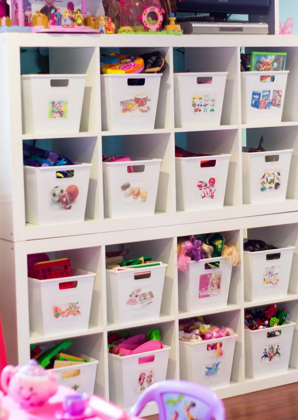 Toy Storage Closet Ideas