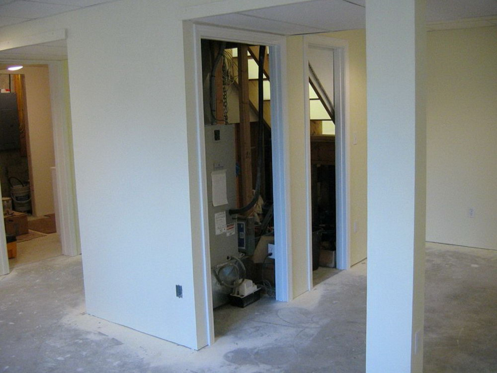 Under Stairs Closet Office