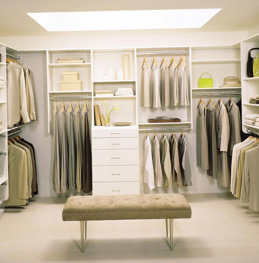 Walk In Closet Organization Pinterest