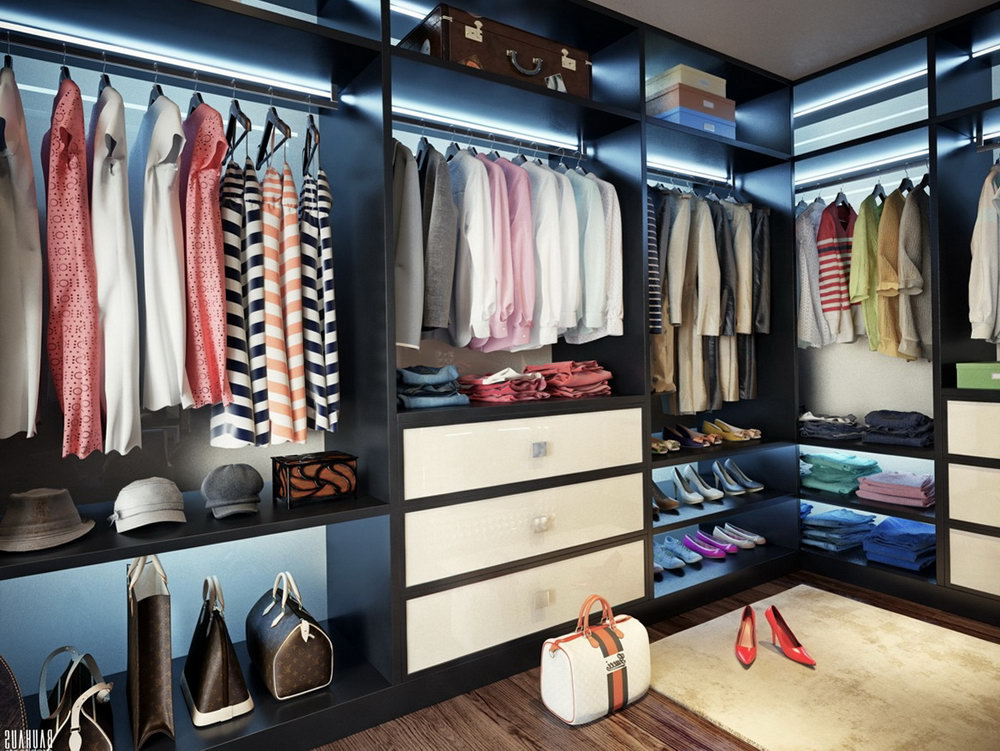 Walk In Closet Plans Dimensions