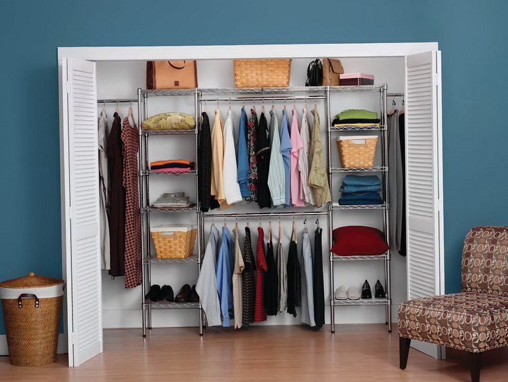 Wire Closet Shelves Home Depot