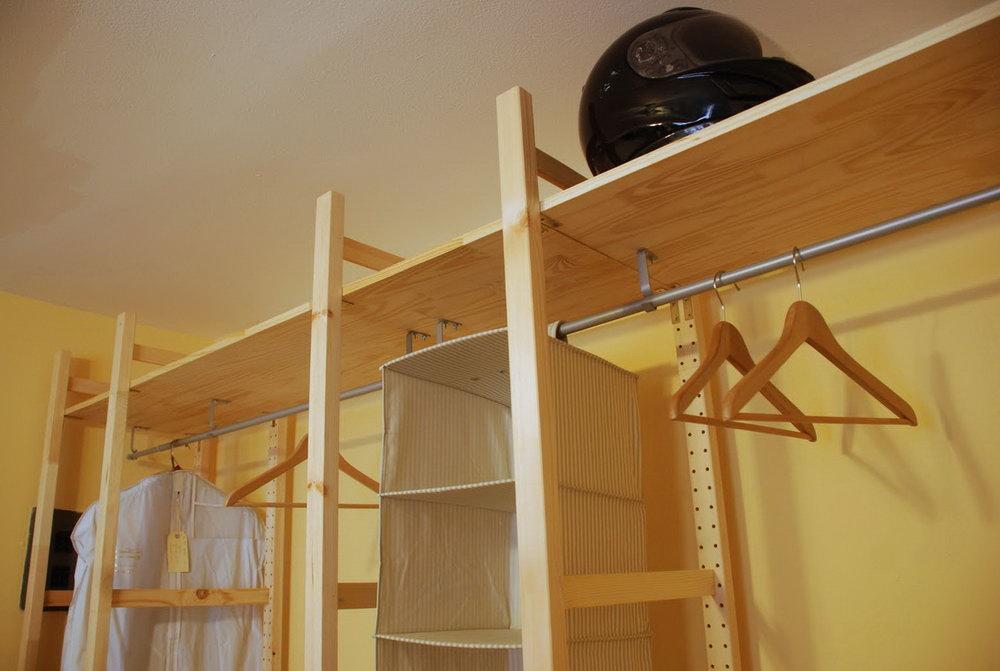 Wood Closet Shelves Lowes
