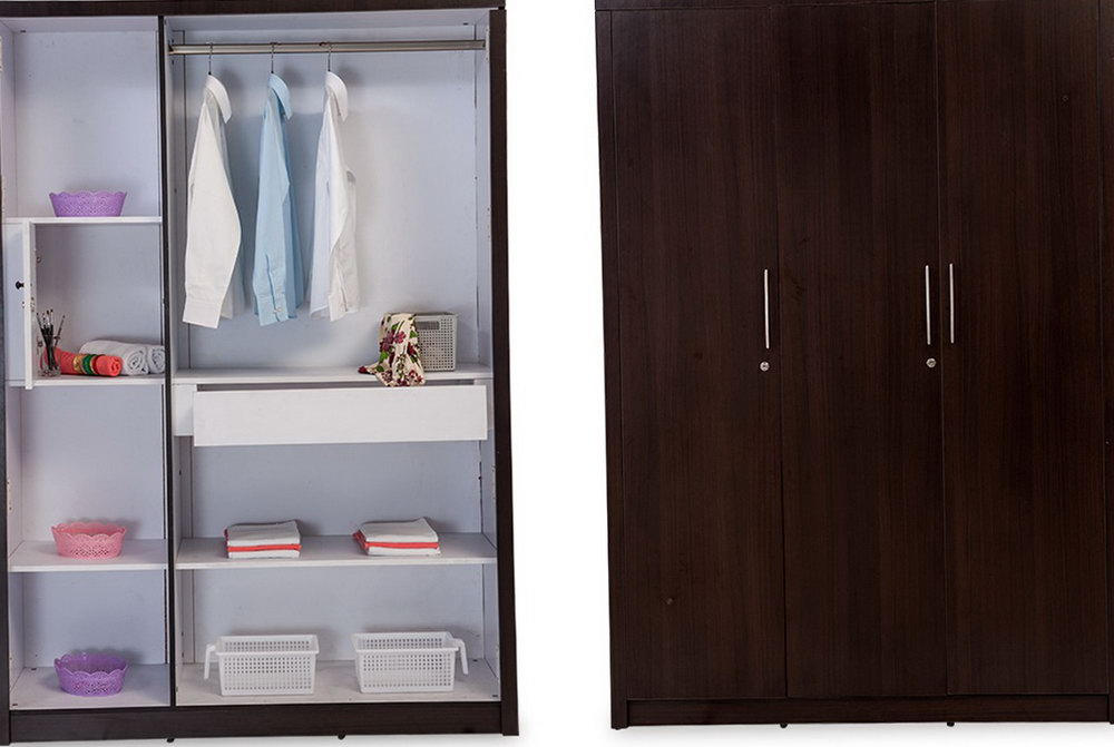3 Door Closet Designs