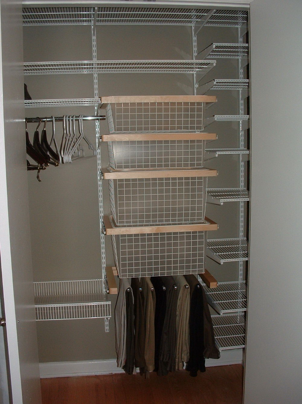 Allen And Roth Closet Design