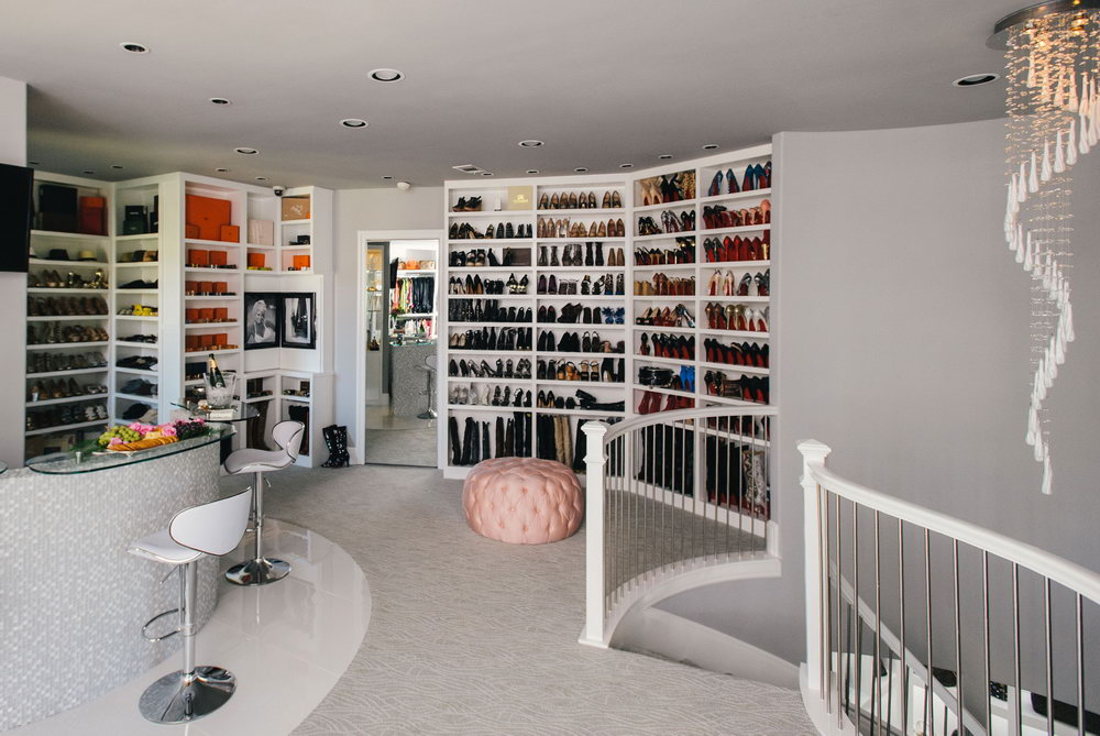 Best Walk In Closets Designs