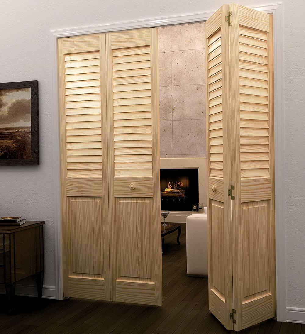 Bi Fold Louvered Closet Doors