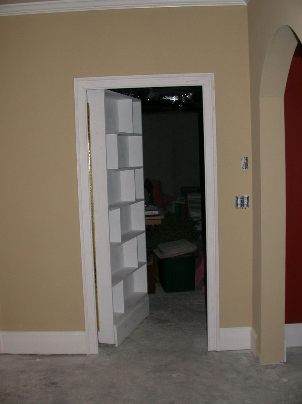 Built In Safe In Closet
