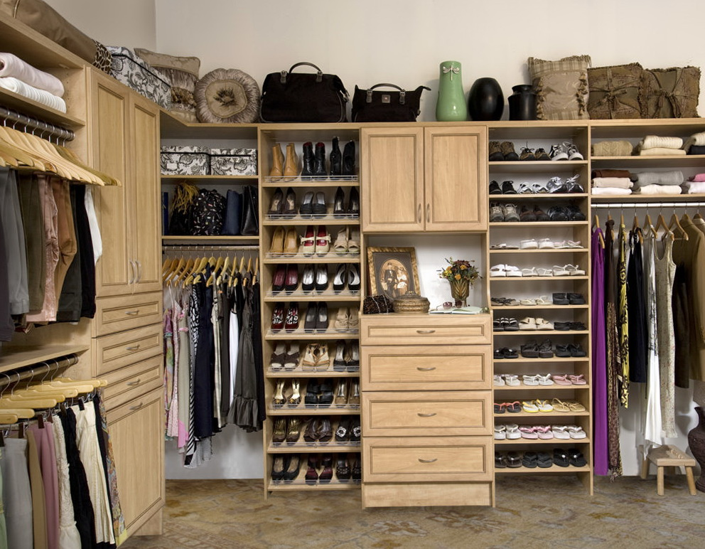 Closet Clothes Storage Ideas