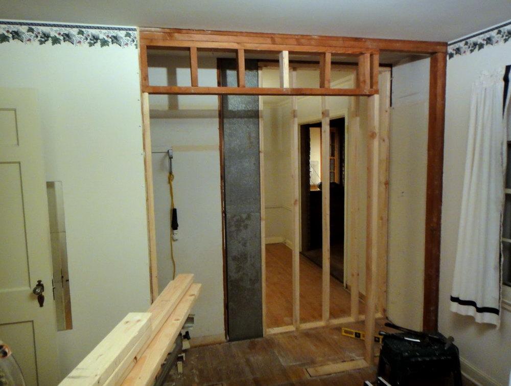 Closet Door Frame Dimensions