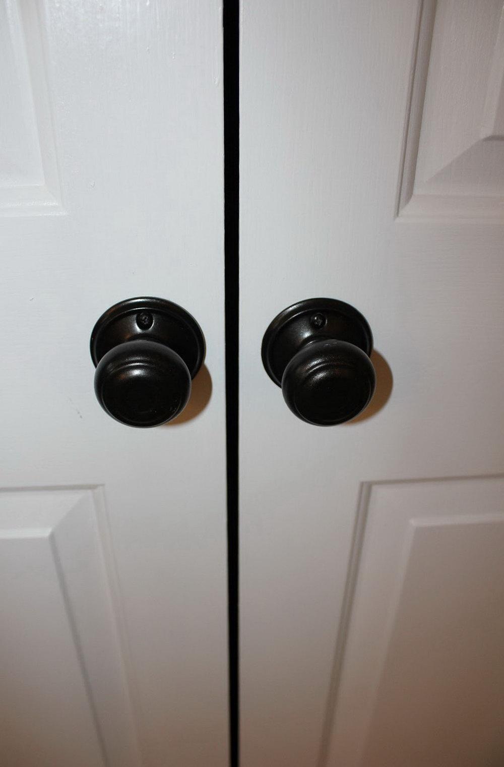Closet Door Knob Ideas