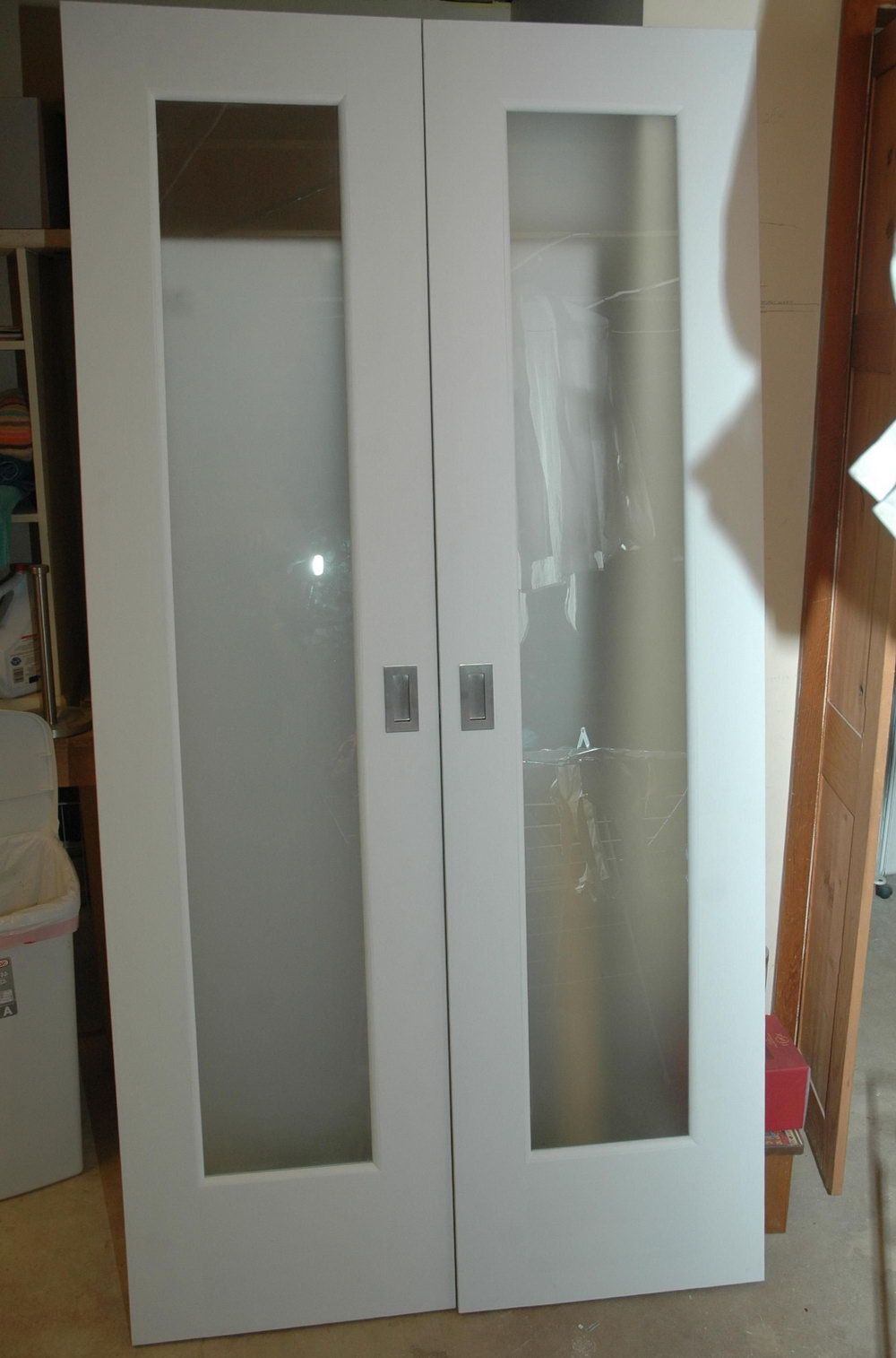Closet Doors With Glass Inserts
