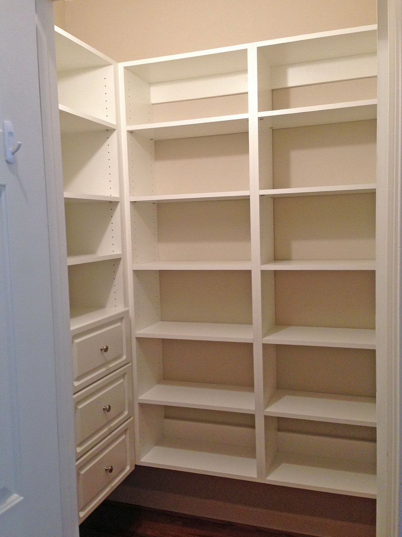 Closet Pantry Shelving Systems