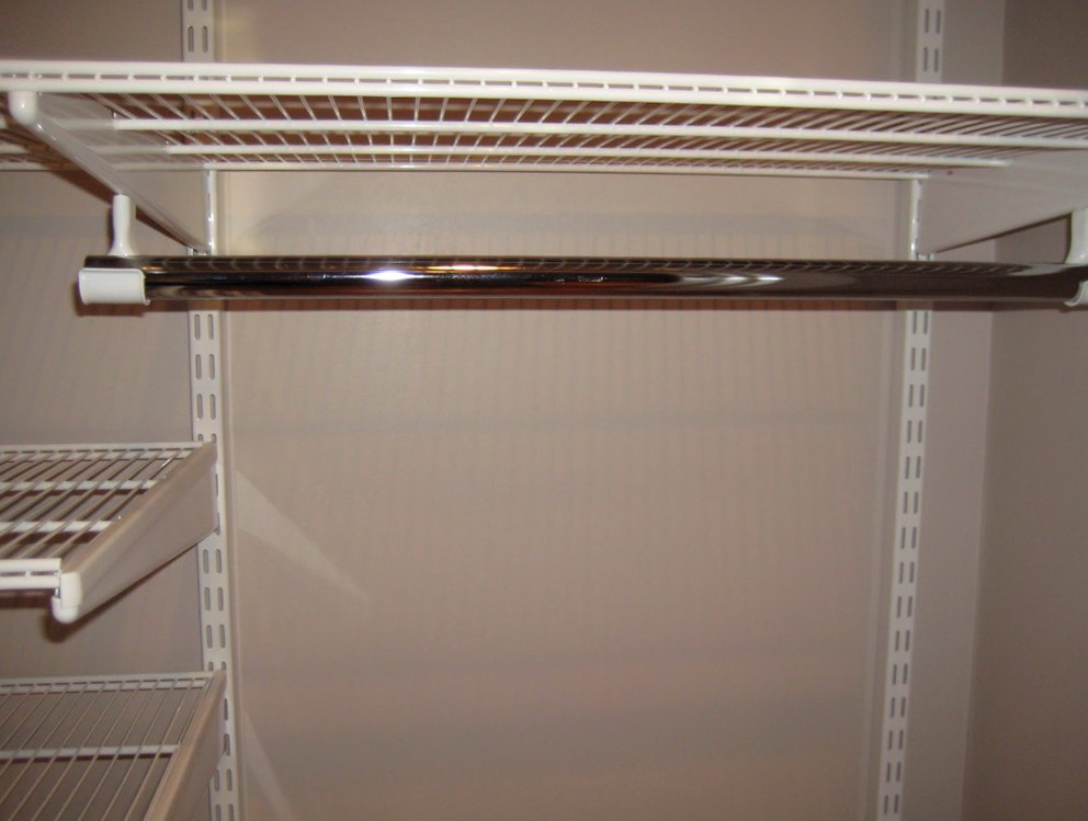 Closet Rod Installation Height
