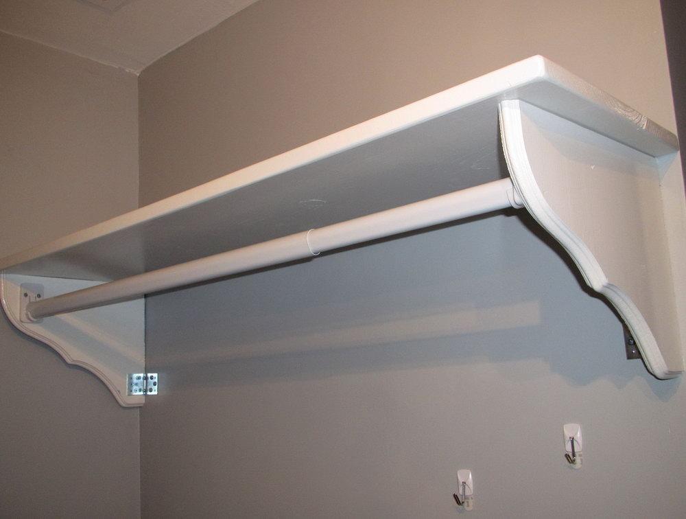 Closet Rod Installation Instructions