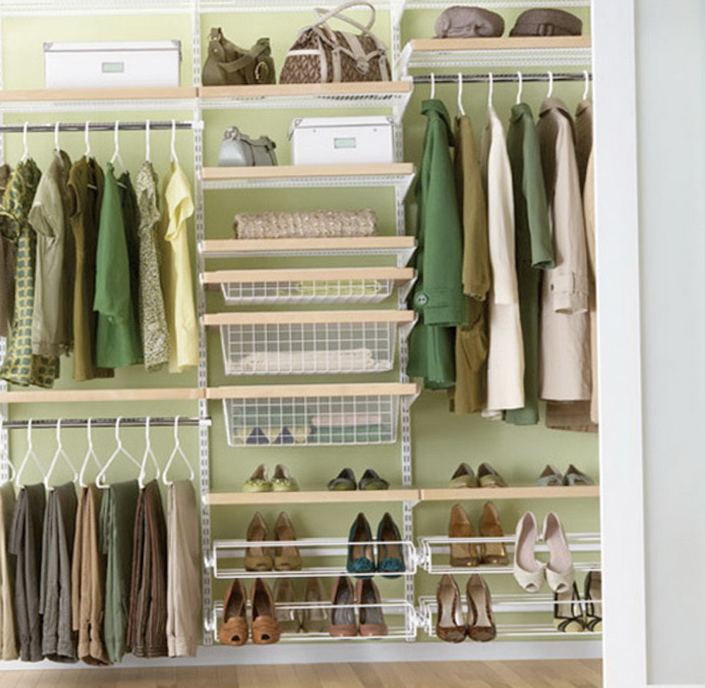 Closet Systems Small Spaces