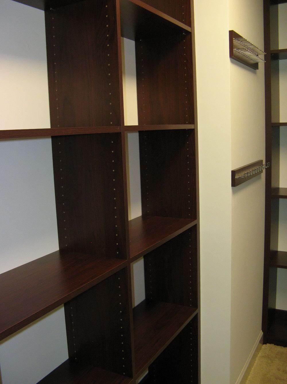 Closet Wall Unit Design