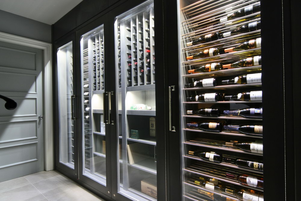 Closet Wine Cellar Kits